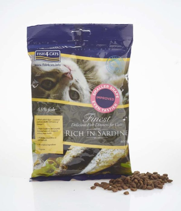 Finest Sardine Complete 400g Bag & Loose