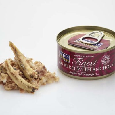 Finest Mackerel With Anchovy 70g