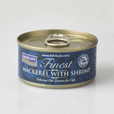 Finest Mackerel With Shrimp 70g