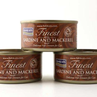 Finest Sardine and Mackerel 70g