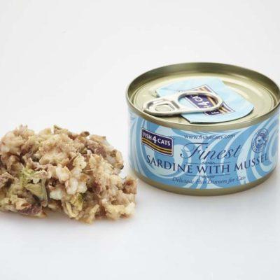 Finest Sardine With Mussel 70g