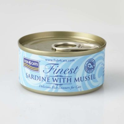Finest Sardine With Mussel 70g