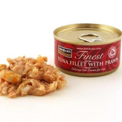 Finest Tuna Fillet With Prawn 70g