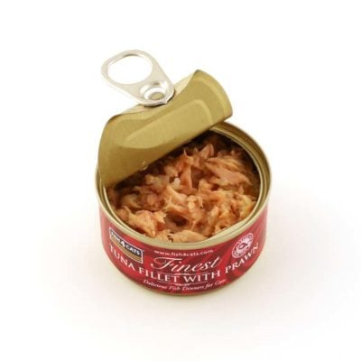 Finest Tuna Fillet With Prawn 70g